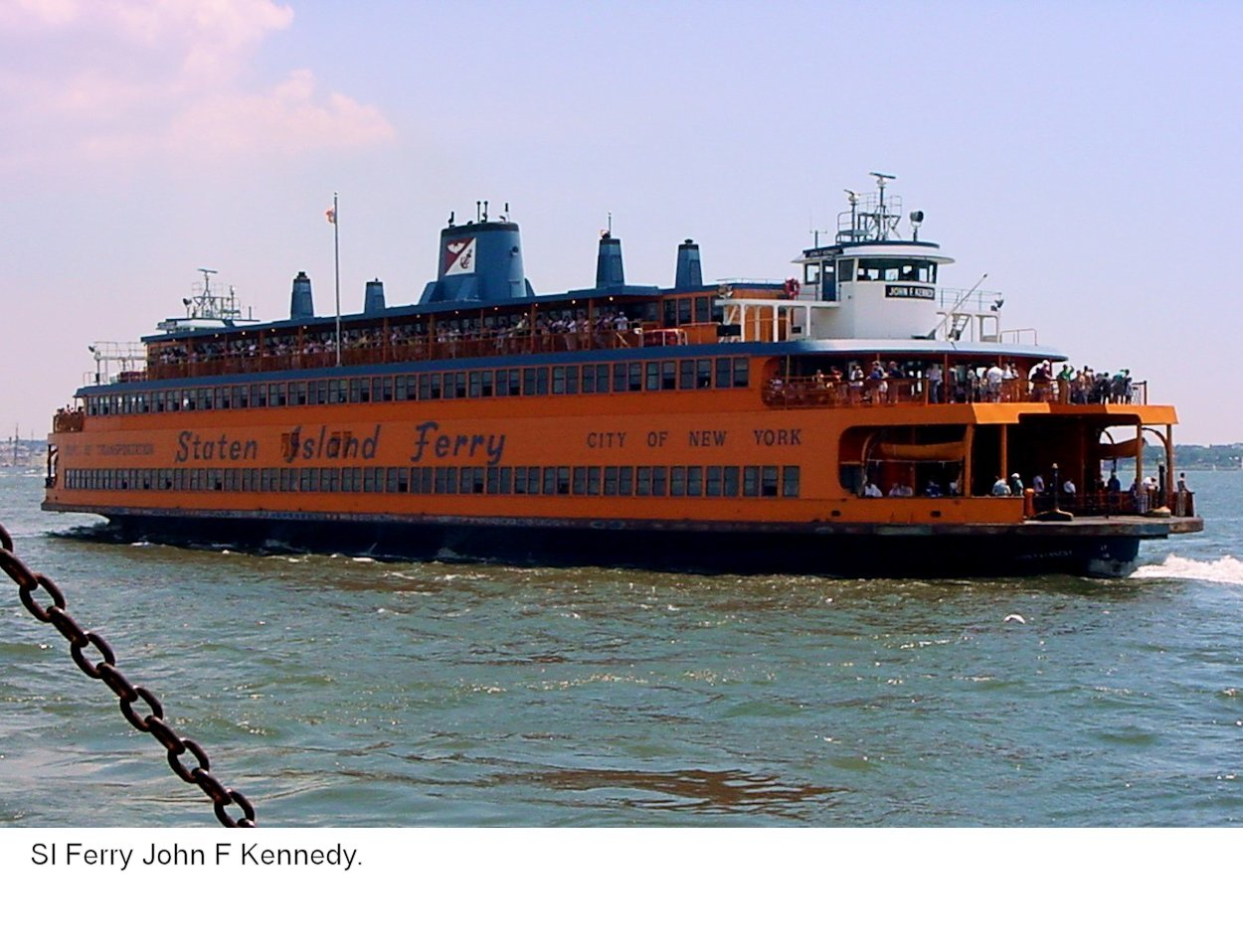 how to get to staten island ferry